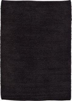 Black Kilim Dhurrie Area Rug