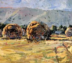 Haystacks by Jeremy Winborg