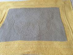 Little Teddy Bear Baby Blanket