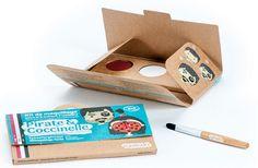 Kit de maquillage Bio Namaki : Pirate et Coccinelle