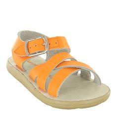 Look what I found on #zulily! Orange Taffy Sandal #zulilyfinds