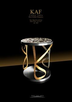 Coffee Table - Pont des Arts Studio - Designer Monzer Hammoud - Paris