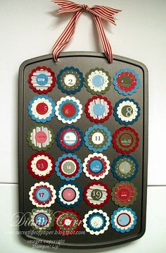 so tomorrow is December 1 and my kids want a different advent calendar this year...I just might be able to pull this off..it will be my first Pinterest project!
