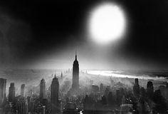 William Klein, Atomic Sky, 1955.