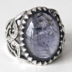 Sterling Silver Unique Handmade Ring for Men by KaraJewelsTurkey, $144.00