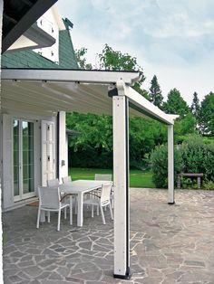 Pergole, pergole retractabile cu structura lemn Med Elite Gibus pentru acoperire si inchidere terase. Pergole din lemn pentru orice casa cu terasa.