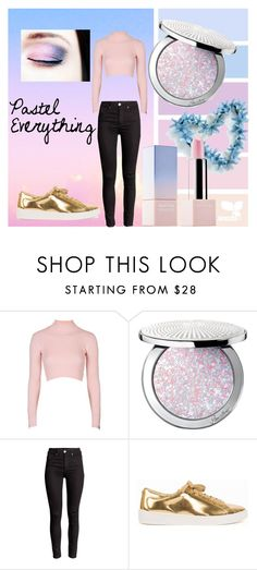 """""""Pastel Everything"""" by glammens ❤ liked on Polyvore featuring Topshop, Guerlain, MICHAEL Michael Kors and Sephora Collection"""
