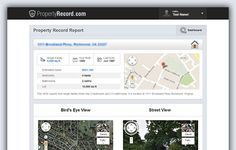 We offer one of the easiest to use search systems in the real estate marketplace. https://www.propertyrecord.com/