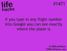 Life Hack for flights