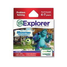 Amazing DisneyPixar Monsters University Explorer Learning Game by LeapFrog * Be sure to check out this awesome product.Note:It is affiliate link to Amazon.