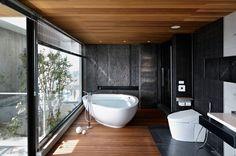 If I had the luxury of a spacious bathroom... Asian Bathroom by Leicht Küchen AG