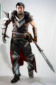 Hawke - Dragon Age 2 Cosplay by Punished Props