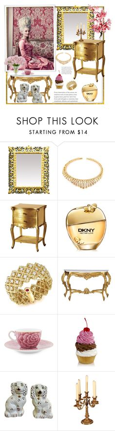 """Versailles"" by natalyapril1976 ❤ liked on Polyvore featuring interior, interiors, interior design, home, home decor, interior decorating, VANINA, Donna Karan, Roberto Coin and PiP Studio"