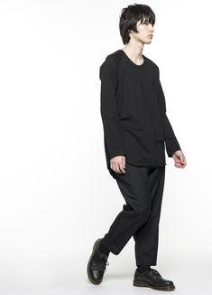 T/W tropical Tapered pants(M Black): S'YTE|THE SHOP YOHJI YAMAMOTO