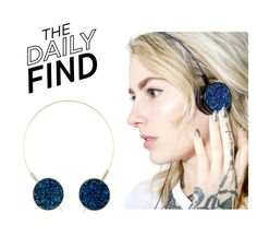 """The Daily Find: Skinnydip Headphones"" by polyvore-editorial ❤ liked on Polyvore featuring DailyFind"
