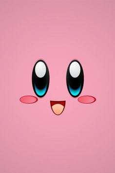 kirby cute iphone backgrounds wallpapers pink geeky monster background game kawaii face funny faces games cool 壁紙 silhouette uploaded 保存