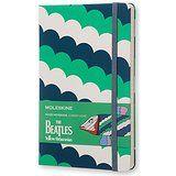 Moleskine The Beatles Pez - Libreta grande, color blanco