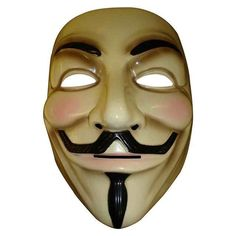 The V for Vendetta Party Cosplay masque Mask Anonymous Guy Fawkes Fancy Dress Adult Costume Accessory macka mascaras Halloween