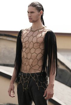 A shirt of chain and hair?