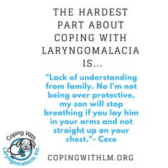 Does your baby have life threatening laryngomalacia? We are here for you, every breath of the way!