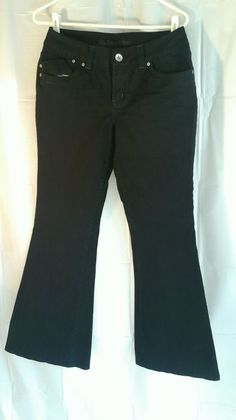 LIMITED TOO WOMENS Black JEANS Sz 16 1/2, #B52 #LimitedToo #SimplyLow
