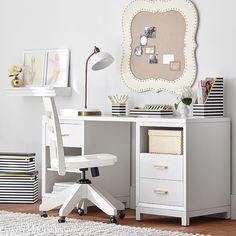 Rowan Cubby & Drawer Storage Desk | PBteen