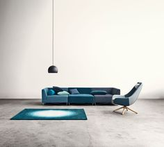 Bolia, Orlando sofa i nydelig blå