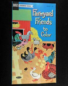 Vintage 1960 Whitman Walt Disney\'s 101 DALMATIANS Coloring Book ...