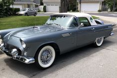 1956 Ford Thunderbird Auction Bid, Las Vegas Blvd, Barrett Jackson Auction, Ford Thunderbird, Collector Cars, Dream Cars, Convertible, Trucks, American