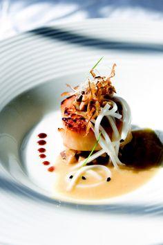 scallop dish