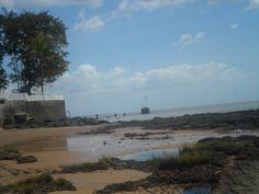 Praia do Farol - Mosqueira - Pará - Brasil (praia de água doce e ondas)