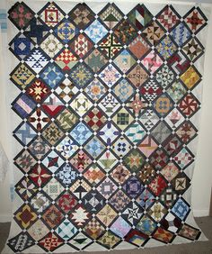 Farmer's Wife Sampler Quilt - Top done! | Flickr - Photo Sharing!
