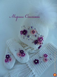 комплект для девочки - вязание и вышивка, плетение, дизайнерская одежда для девочек. МегаГрад - мега-портал авторской ручной работы