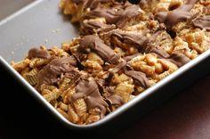 No Bake Peanut Butter Caramel Bars