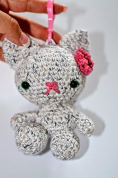 Annoo's Crochet World: Back to School Kitty Backpack Buddy Free Tutorial