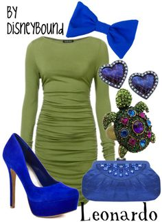 I would rock this sanz the bow and turtle pin... provably a nude clutch.