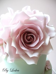 Beautiful rose cake......