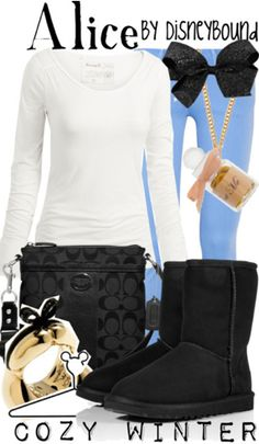 Winter Alice in Wonderland by Disneybound http://www.lrpvcgi.com   $89.99  cheap ugg boots, ugg shoes 2015, fashion winter shoes