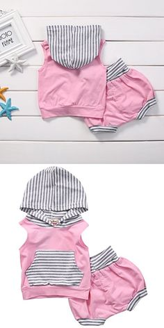 66110697db23 Baby Girl Clothes Infant Outfits Set 2 Pieces With Long Sleeved Tops ...