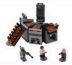 2016 LEGO Star Wars Carbon-Freezing Chamber 75137