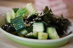 Orange Wakame Salad