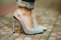 Simplesmente sentindo palpitações com esse sapato