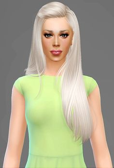 Artemis Sims: B-Flysims 099 hairstyle retextured - Sims 4 Hairs - http://sims4hairs.com/artemis-sims-b-flysims-099-hairstyle-retextured/