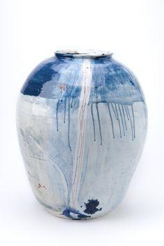 Adam Frew, porcelain pot, 70x58cm