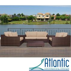 @Overstock - Get more from your outdoor living areas when you add this four-piece outdoor seating set. A sofa and two armchairs offer plenty of space for family and friends, and the included coffee table provides a perfect place to rest drinks, snacks, or more.http://www.overstock.com/Home-Garden/Lexington-Deluxe-4-piece-Deep-Seating-Set-with-Sunbrella/6175090/product.html?CID=214117 $2,897.00