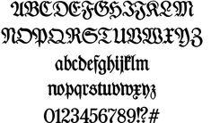 Des Malers Fraktur font by Peter Wiegel #fonts #font #ttf #typography #design #webdesign #gothic #medieval
