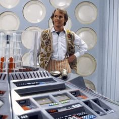 Peter Davison owns the classic TARDIS