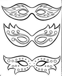 Risultati immagini per mascaras carnaval para colorear Mardi Gras Mask Template, Theme Carnaval, Mardi Gras Party, Masquerade Party, Mask Party, New Years Party, Colouring Pages, Art For Kids, Crafts