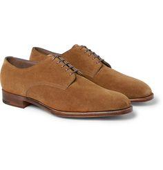Edward Green - Westbourne Suede Derbies Shoes|MR PORTER