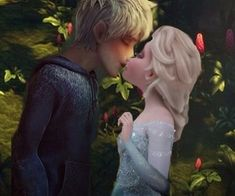 I'm Queen Elsa.I'm married to King Jack Frost :D .I have two beautiful daughters-Crystal and Helena :-* .Soo,welcome to my new board :D<<aww Elsa Frozen, Frozen Love, Disney Frozen, Jelsa, Elsa E Jack, Jack Frost And Elsa, Sailor Moon Background, Frozen Pictures, Rap
